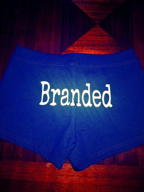 "Ladies ""Branded"" Boy Shorts"