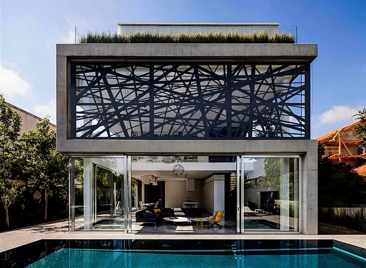 Fachadas e muros arquitetura e casa - Muro exterior casa ...