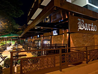 Uso de Aço Corten em Bares e Restaurantes de Brasília.