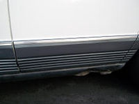 Mercedes W126 Door molding rear left