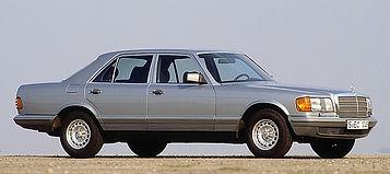 Mercedes W126 300SD, 300SE, 380SE, 380SEC, 420SE, 420SEC. 500SEC, 560SEC