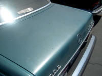 Mercedes W123 300D trunk lid