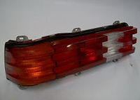 Mercedes W123 300D tail light