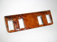 Mercedes wood W123 switch plate