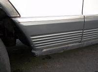 Mercedes W126 fender molding front left