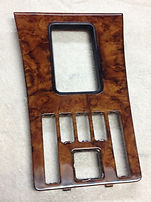 Mercedes Wood 380SEL Shift Plate.