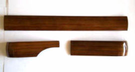 Mercedes wood W123 front trim