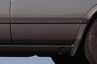 Mercedes W126 Door molding rear right