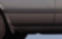 Mercedes W126 Door molding rear left