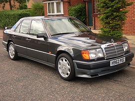 Mercedes W126, 300SD.