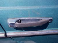 Mercedes W123 300D rear right door handle