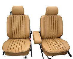 Mercedes 300D Front Seats