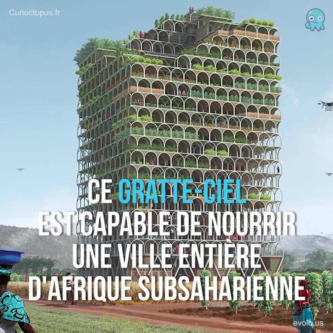 Ce gratte-ciel peut nourrir une ville