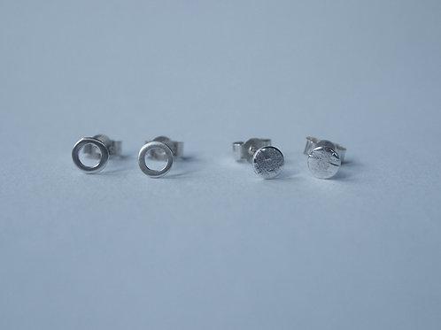 Mini Stud Earrings Set