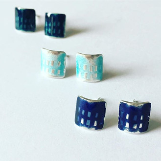 These enamel studs are currently availab