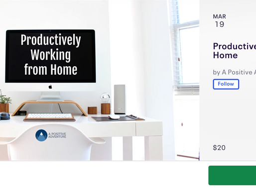 Productively Working from Home (WFH) Webinar