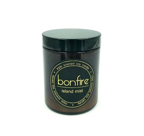Bonfire Candle Co   Island Mist