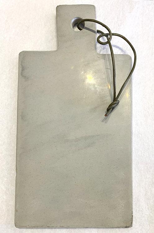 Grey Stone Board W / Leather