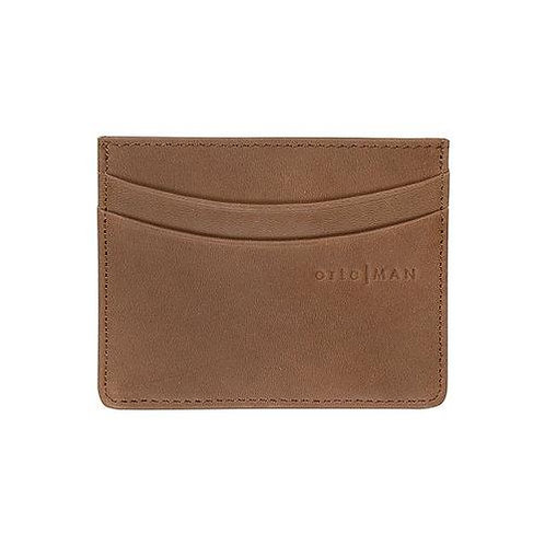 Ortc | Leather Card Holder | Tan