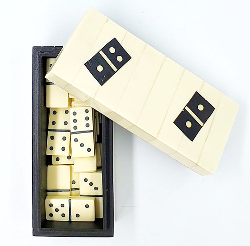 Bone Domino Set
