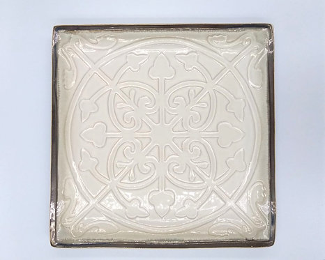 Lyon Square Ceramic Plate