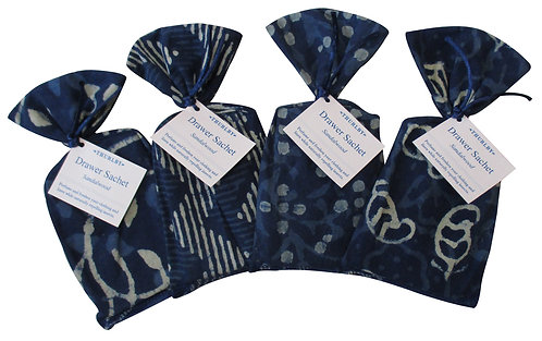 Thurlby | Drawer Sachet Sandalwood Indigo