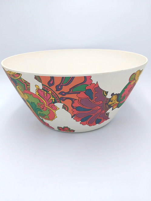 Eco Impact Bamboo | Salad Bowl | Printed | 25cm