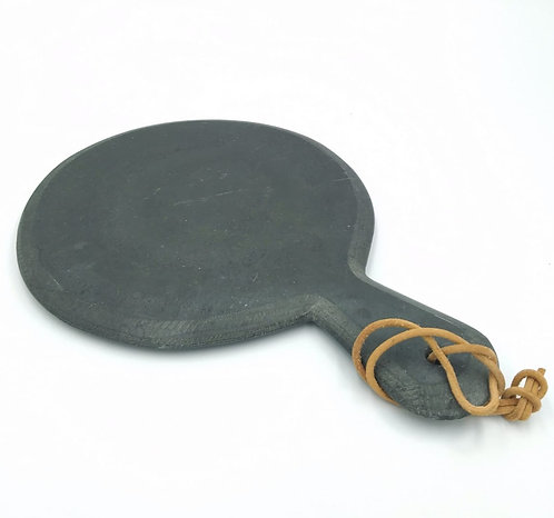 Slate Round Board with Handle