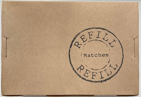 Plain & Simple | Matches Refill | 100pk