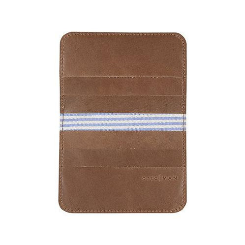 Ortc | Leather Bifold Wallet | Tan