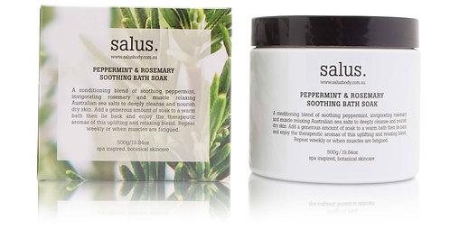 Salus | Peppermint & Rosemary Bath Soak | 500g