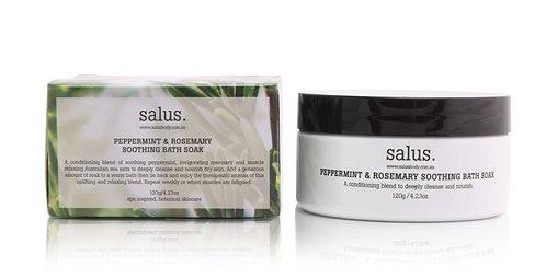Salus | Bath Soak | Peppermint & Rosemary | 120g