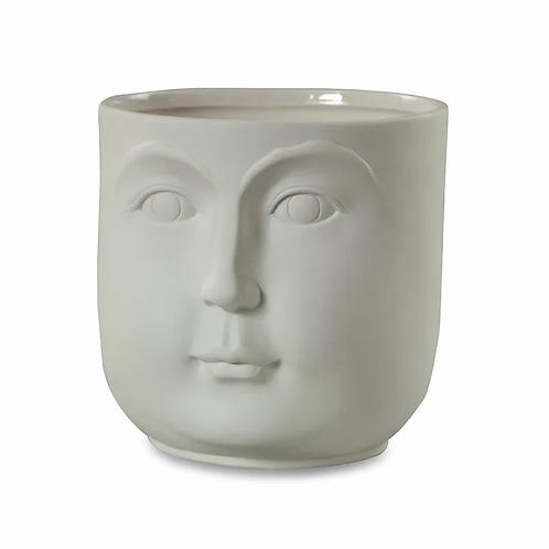 White Ceramic Vase | Archie