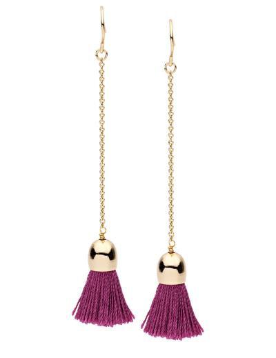 Dear Addison | Candytuft Earrings | Dark Pink