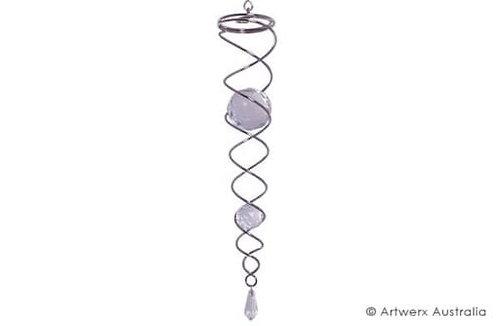 Artwerx | Double Crystal Spiral Drop