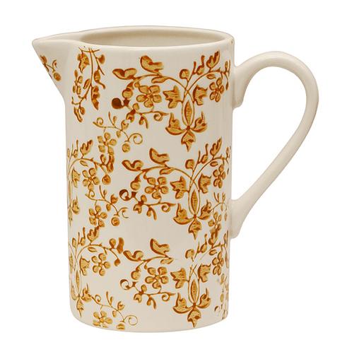 Florentine Ochre Jug & Tea Cup