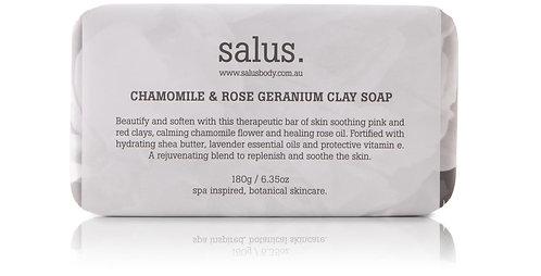Salus   Chamomile & Rose Geranium Soap