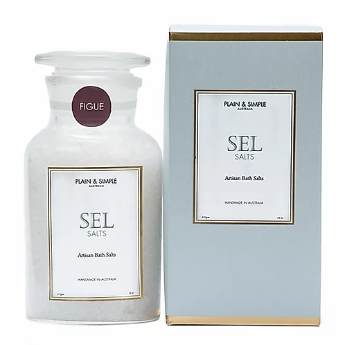 Plain & Simple | Bath Salts | Figue