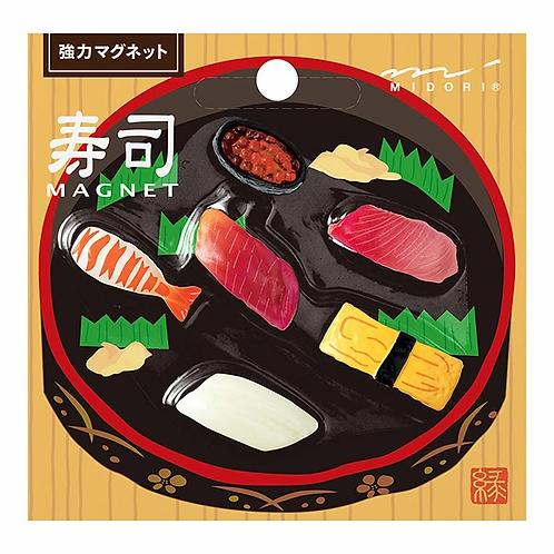 Midori | Mini Magnets | 6 Piece Set