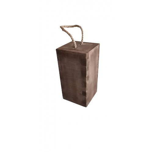 Wooden Door Stop with Rope