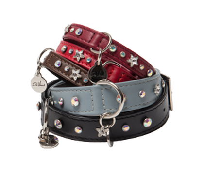 Caterina | Leather Dog Collar
