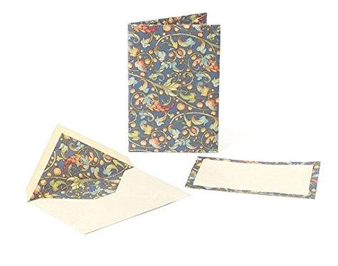 Kartos - Ramis (vines) Stationery Portfolio: Cards And Envelopes, Italian Paper