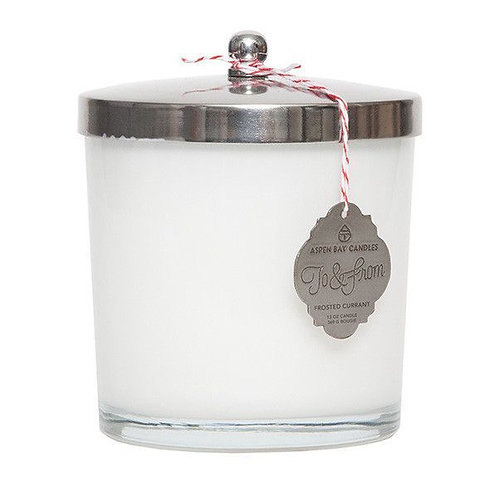 Aspen Bay candle | Frosted Current