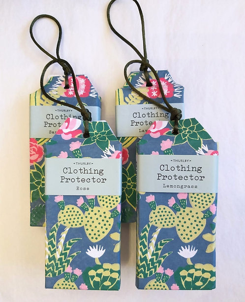 Thurlby | Clothing Protector | Green Fern Print