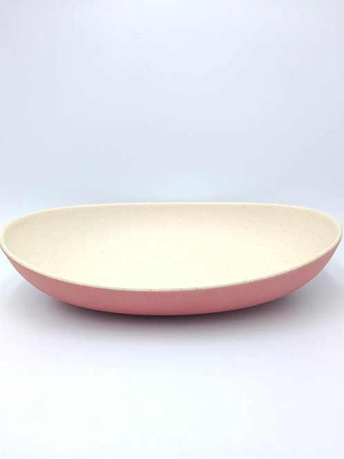 Eco Impact Bamboo | Large Oval TwoTone Bowl | 27cm