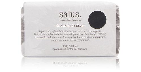 Salus | Black Clay Soap | 180g