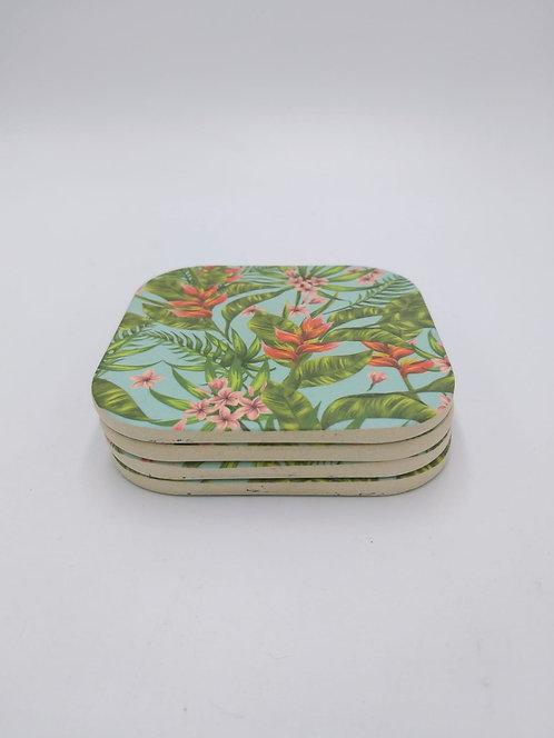 Eco Impact Bamboo | Coasters 4pk
