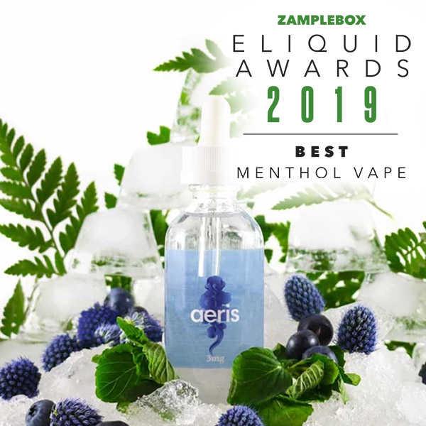 Zamplebox Best Menthol Vape 2019 Eliquid Awards