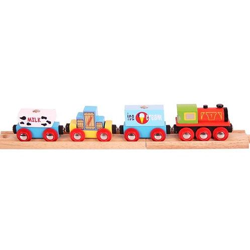 Big Jigs Goods Train - Toys