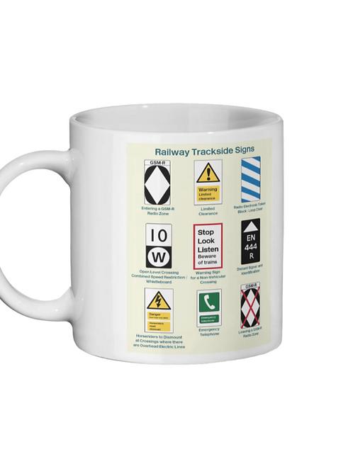 Trackside Signs - Ceramic Mug